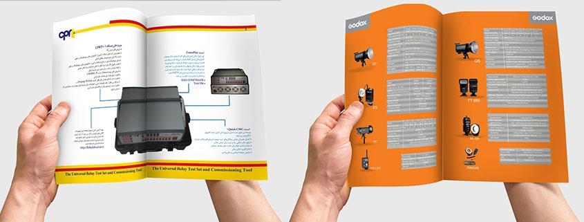 طراحی کاتالوگ های صنعتی cprt و godox